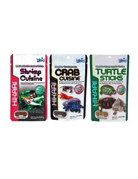 Crustaceans and turtles
